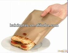 Reusable high temperature resistant plastic bags