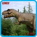 parque de diversões simulação dinossauros t rex cartoons