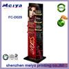 Hot selling supermarket shelf cardboard pop cosmetic display,Loreal Maybelline cosmetics display