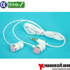 High quality plastic covers for earphone paypal with package