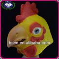 china fabricante novo produto galinha de látex máscara de animal