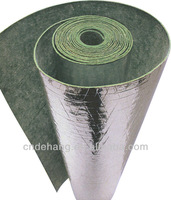 3mm acoustical rubber underlayment with silver foil,Acoustic recycled rubber underlay
