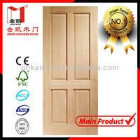 High quanlity plain solid wood doors