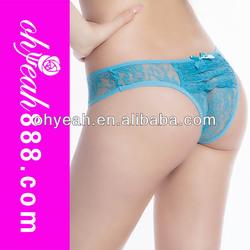 Beauty Fashion New Wholesale Hot Sexy Girls See-through Underwear Women Panties