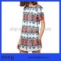roman estilo mulheres grávidas imprimir africano vestido midi
