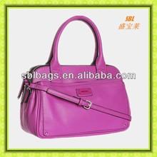 Fashion bags ladies handbags pink small lady leather handbag