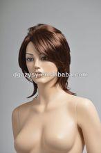mannequin head white hair