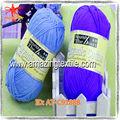 china fornecedor de mão de confecção de malhas de fios de algodão