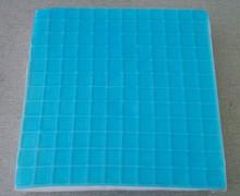 Thermo gel memory foam sofa cushion/cooling gel seat cushion/square memory foam seat cushion