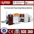 Full Automatic Sandwich & lanches papel saco que faz a máquina