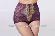Missadola 2014 New women sexy lingerie/babydoll/sleepwear high waist body shaper panties