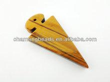 CH-ESP0211 Tiger eye stone pendant,fashion pendant beads wholesale