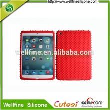 Creative silicone case for mini i pad 2 with snag shape