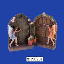 Fancy Decorative Elf With Wings Fairy Doors