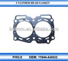 Gasket cylinder head for SUBARU FHI3.0(11044-AA633)