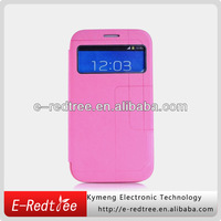 Girls' stylish pu leather cell mobile flip phone case for Samsung N7100 Note 2
