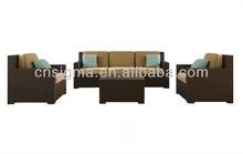 2015 Outdoor Rattan Furniture Patio Garden 4pcs Wicker Sofa Set For Living Room Furniture