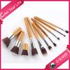 OEM10pcs Bamboo Cosmetics Brushes Makeup