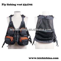 Hot sale waterproof fly fishing vest