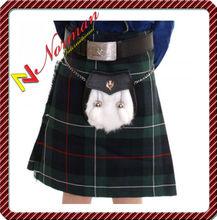 Boys Mackenzie Clan Modern Budget 100% ACRYLIC WOOL Kilt - CK1002