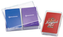 Branded Corporate Playing Cards in Plastic Box Packing
