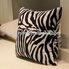 45*45cm Vintage Retro Star Fleece Pillow Cushion Cover,animal skin print pillow