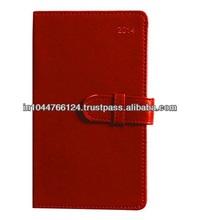Fancy Planner Organizer / planner journal notebook / genuine red leather year planner
