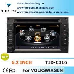 S100 2-din Car DVD For VW GOLF4/B5 GPS A8 Chipset 3 zone POP 3G/wifi BT 20 dics playing TID-C016