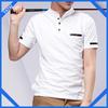 plain white man's golf polo shirt for oem service
