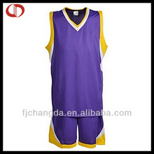 100%Ployester customzied youth cheap uniforms basketball reversible
