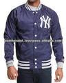 Jaquetas de cetim/satin jaqueta de beisebol/cetim jaquetas varsity