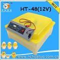 Temperatura- controlada novos caseiro incubadora de ovos para incubação ht- 48(12)
