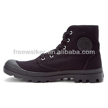 u.s.a y black military training canvas shoes