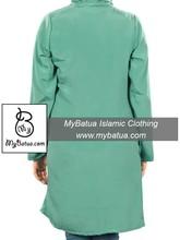 Elegant Party Wear, Wholesale, Islamic Kurti Kurta Kurthi, Muslim Ladies Blueses and Tops, Nazish Tunic KRF-112