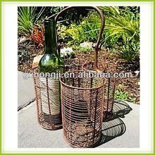 Wire 4pack wine bottles holder
