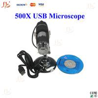 USB Digital Microscope, 500X USB Microscope, USB Connection magnifying glass 2.0M pixels
