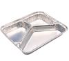 Aluminum Foil Three Portion Box