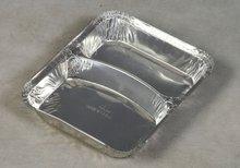 Aluminum Foil Two Portion Box
