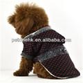 ファッショナブルなオールブラックスの洋服犬犬のための軍の服