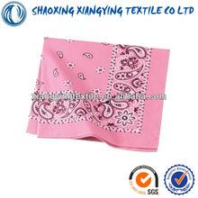 seductive pick 100% cotton bandana wedding decoration for selling