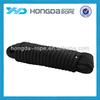 Black double braid nylon dock line