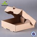 custom made embalagem marrom ondulado caixas postais