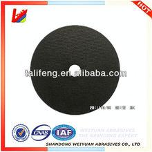 "5"" 125X2.5X22 china carbon disc thin abrasives cut off wheel"