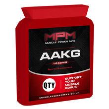 Muscle Power Max AAKG Arginine Amino Acid Sports Diet Supplement