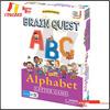 YCB-C1035-Brain Quest Play'n Learn ABC Alphabet Letter Game