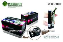 Mais recente e excelente rotativo ponta gotejamento 2.5ml t3 bobina inferior clearomizer fácil recarregável ego e- cigarro starter kits