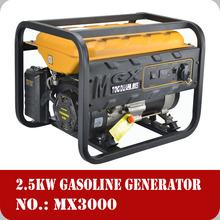 2500watt portable low noise level Honda engine generator