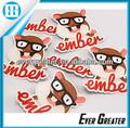 impresos personalizados de parachoques etiqueta etiqueta calcomanías para los coches de juguete del coche calcomanías para la venta