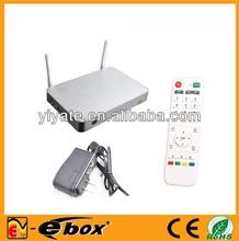 UGOOS UT1 Android TV Box Quad Core Smart TV Receiver RK3188 1.6GHz 2G/8G HDMI AV USB RJ45 OTG SD Optical WiFi IPTV Media Player
