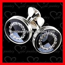 2014 Fashion custom cufflink and tie pin set